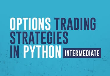 Python options trading library